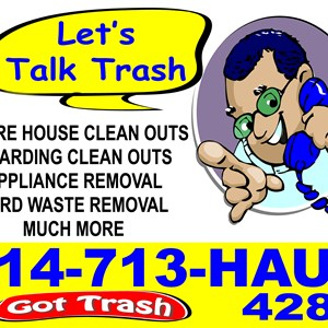Got Trash?      Absolute Lawn Care 713-Haul Logo