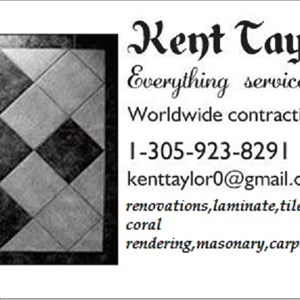 Taylor Contracting and Kayak Services Logo