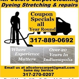 All Colors Carpet Cleaning Dyeing Stretching and Repairs Logo