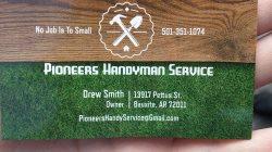 Pioneers Handyman Service Logo