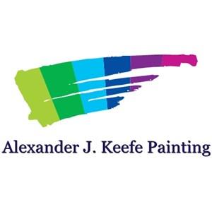 Alexander J. Keefe Painting Logo