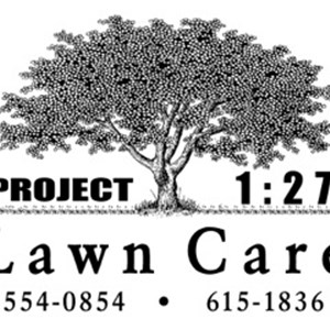 Project 1:27 Lawn Care Logo