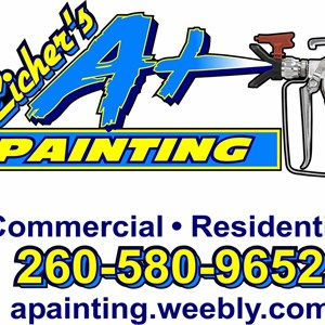 Eichers A+ Painting Logo