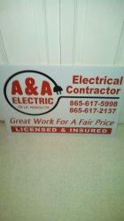 A&A  Electric Logo