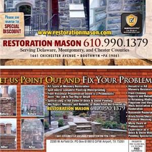 Restoration Mason Logo