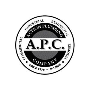 Action Plumbing Company Logo