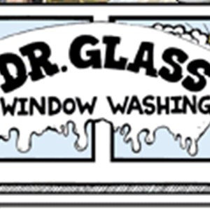 Dr Glass Window Washing Logo
