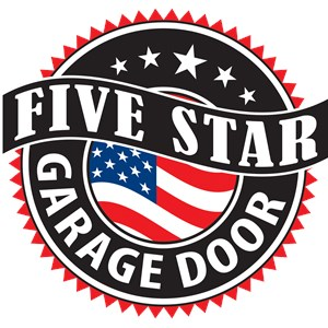 Five Star Overhead Garage Door Logo