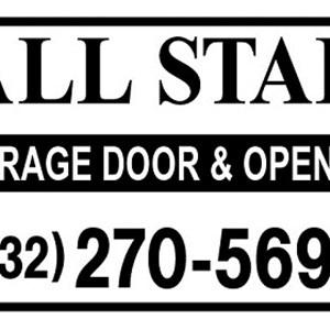 All Star Garage Door CO. Logo