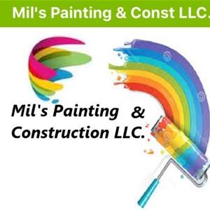 Mils Painting & Const llc Logo