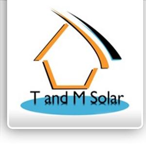 T & M Solar Logo