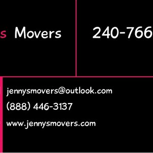 Jennys Movers and Cleaning Service Logo