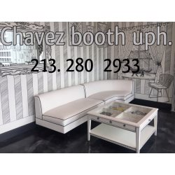 Chavez Booth Uphostelry Logo