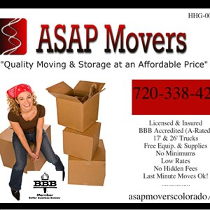 Asap Movers Logo
