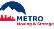 Metro Moving & Storage CO Logo