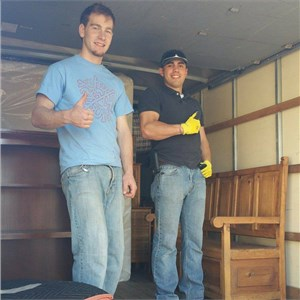 Two Guys, No Truck Llc: Moving Labor Logo