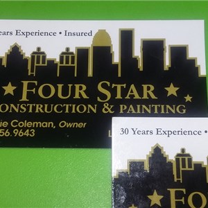 Four Star Construction & Painting INC Logo