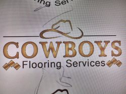 cowboys flooring services Logo