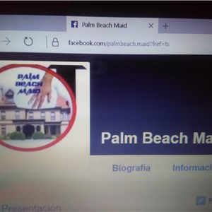 Palm Beach Maid Logo