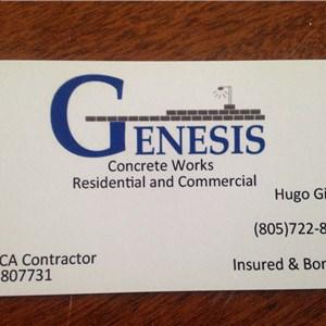 Genesis Concrete Logo