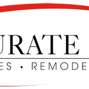 Accurate Build New Homes Remodel & Repair Logo