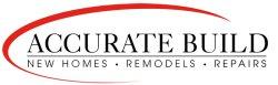 Accurate Build New Homes Remodel & Repair Logo