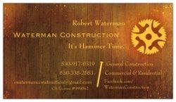 Waterman Construction Logo