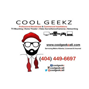 Cool Geekz | TV Wall Mount Installation | Home Theater Wiring & Installation | Video Security Surveillance Cover Photo