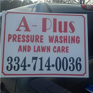 A-plus Pressure Washing and Cleaning Services Logo