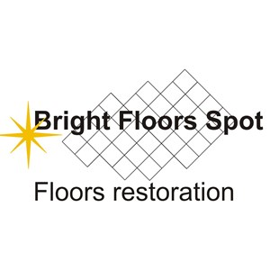 Sun Bay Flooring Corp / DBA: Bright Floors Spot Logo