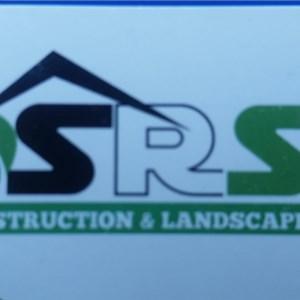 Srs Contruction and Landscape Logo