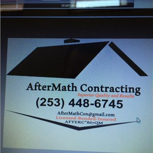 Aftermath Contracting Logo