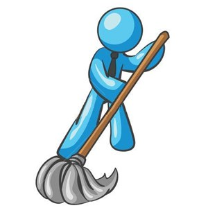 A&M Cleaning Service Logo