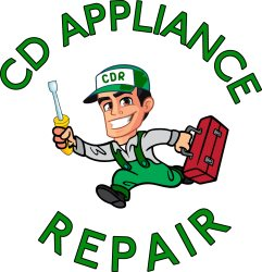 cdappliancerepair@gmail.com Logo