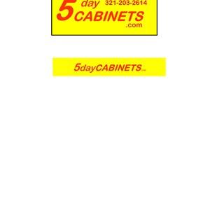 5daycabinets Logo