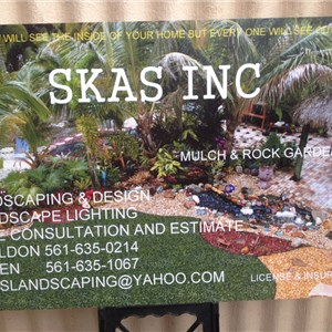 Skas Inc. Landscaping & Design Logo