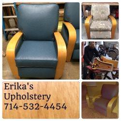 Erikas Custom Upholstery Logo