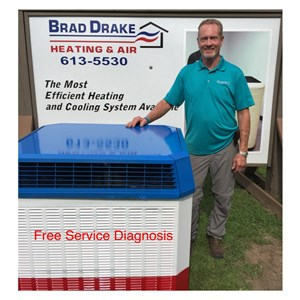 Brad Drake Heating & Air Logo