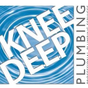 Knee Deep Plumbing Logo