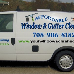 Affordable Window & Gutter Cleaning Cover Photo
