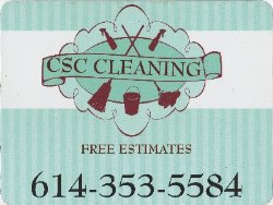 Csc Cleaning llc Logo