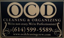 Ocd Cleaning and Organizing Logo