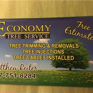 Economy Lawn Care Logo