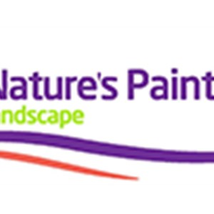 Natures Paintbrush Landscape Logo