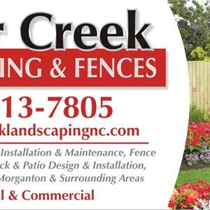 Silvercreek Landscaping & Fences Logo