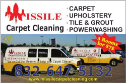 Missile Carpet Cleaning Logo