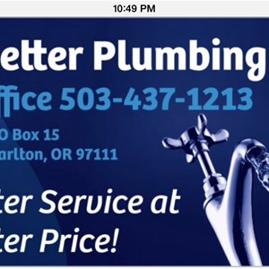 Abetter Plumbing Company LLC Cover Photo