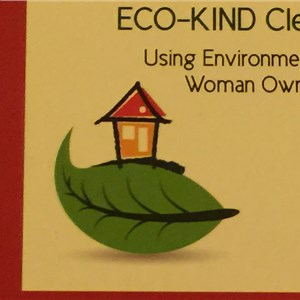 Eco-kind Cleaning Co Logo