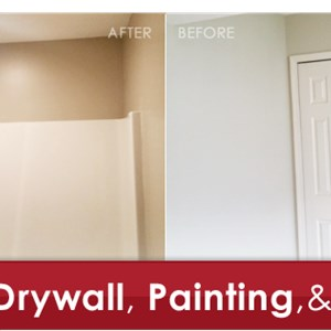 Rainbow Dry Wall and Painting Logo