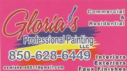 Glorias Professional Painting LLC Logo